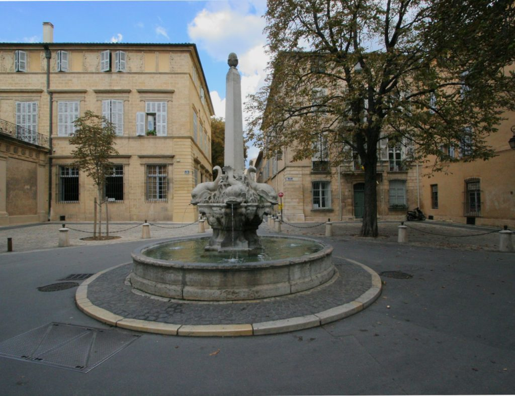 Aix-en-Provence Fountain