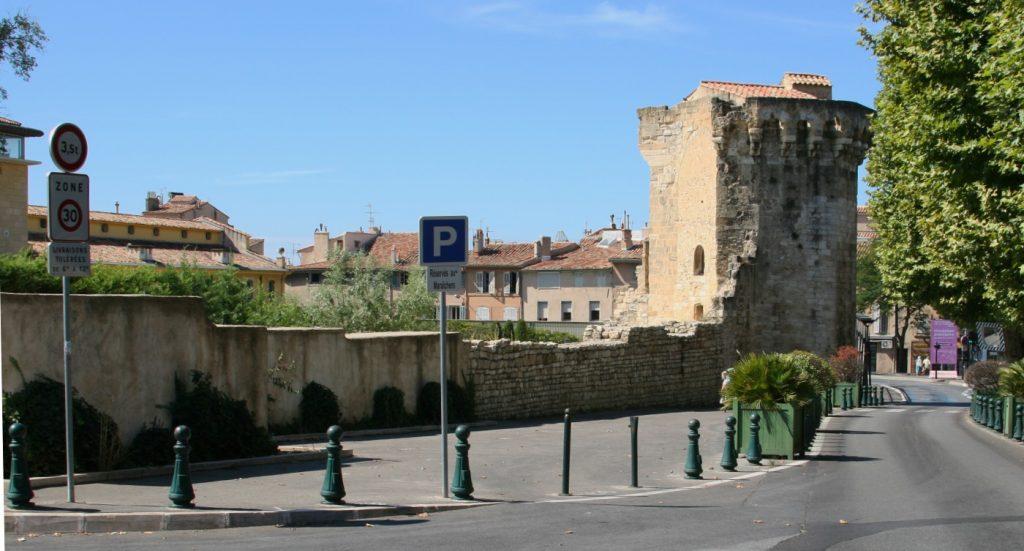Roman Ruins in Aix