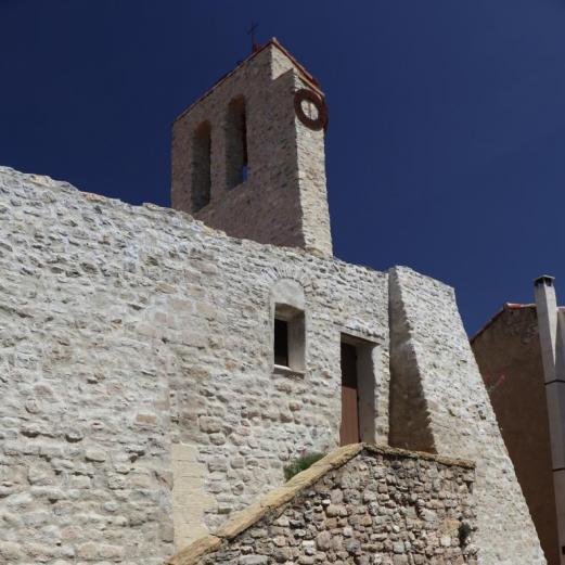 L'Eglise Sainte-Marie in Puyloubier